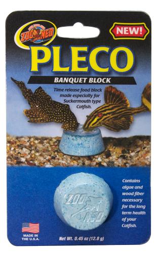 Pleco Banquet Block